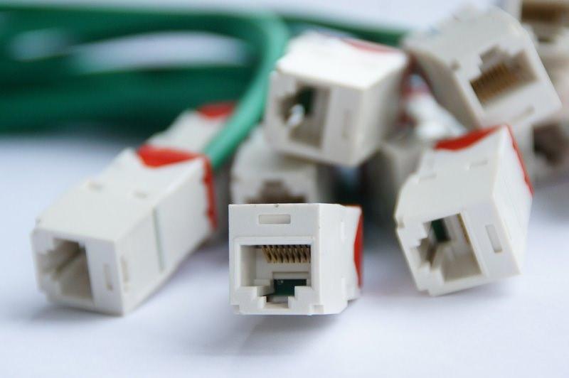 plug RJ45 per collegamenti Internet