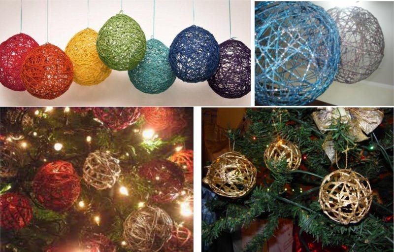 Decorazioni natalizie fai da te economiche e facili da - Decorazioni natalizie albero fai da te ...
