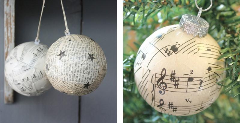 decorazioni natale palle dal blog di Bricobravo
