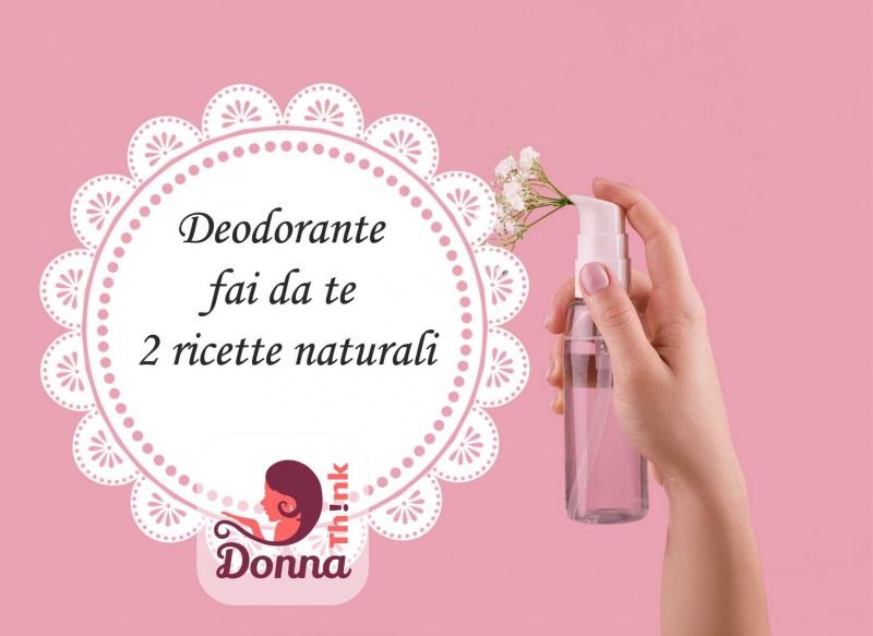 due ricetta spray deodorante naturale fatto in casa fai da te fiori bianchi