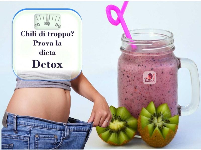 Dieta detox dimagrante dopo le vacanze bilancia pesa persone dieta corpo donna jeans kiwi smoothie