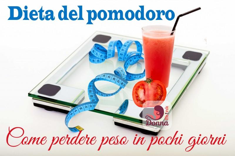 Conosci la dieta del pomodoro? Come perdere peso in pochi giorni bilancia pesa persone vetro trasparente bicchiere succo cannuccia metro sarta