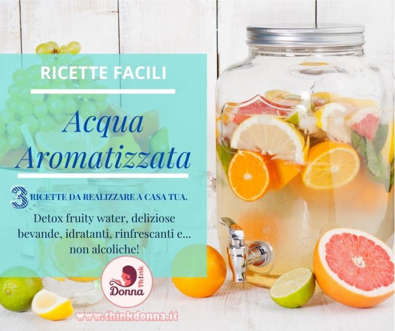 dispenser di vetro rubinetto acqua detox water aromatizzata frutta agrumi