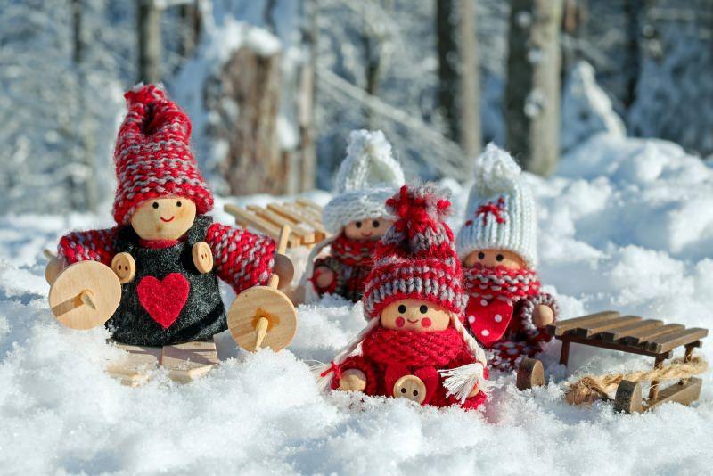 Albero di Natale in stile scandinavo | Decorazioni natalizie nordiche buone feste