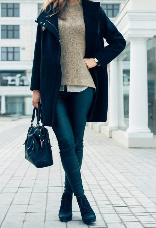 donna jeans camicia maglione cashmere parka giubbotto borsa