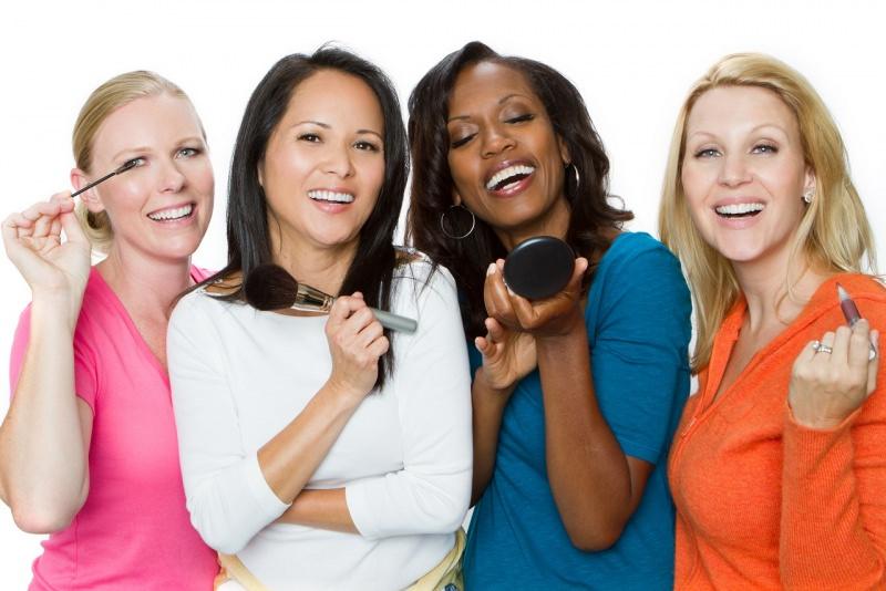 make-up trucco donne diverso tipo pelle