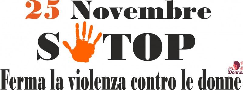 25 novembre Giornata internazionale per l'eliminazione della violenza contro le donne