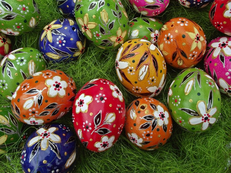 foto libera pixabay come dipingere uova di pasqua colori fiori erba