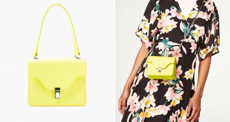 Gli accessori moda, le tendenze principali della prossima stagione Quale sarà la borsa più alla moda nella primavera-estate 2018? Borsa similpelle Esprit Bright Yellow
