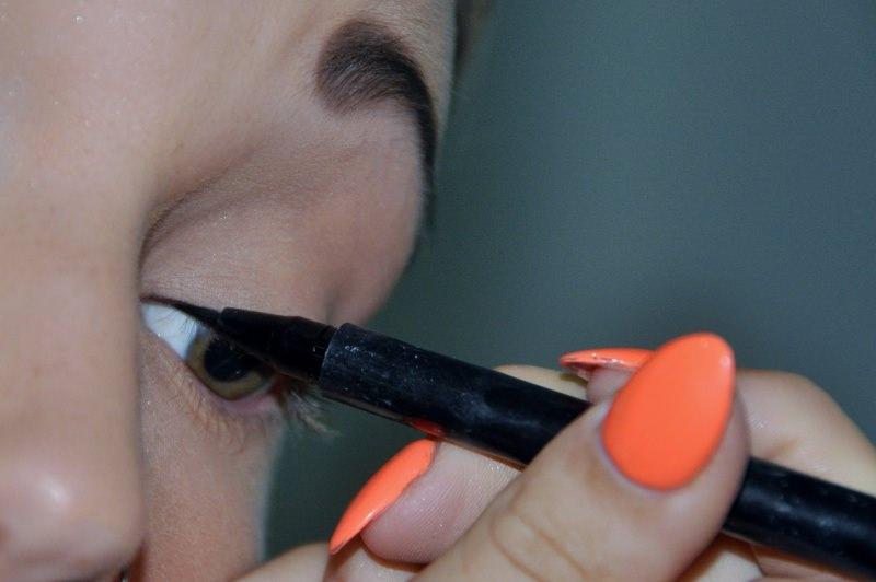 trucco occhi eyeliner tutorial