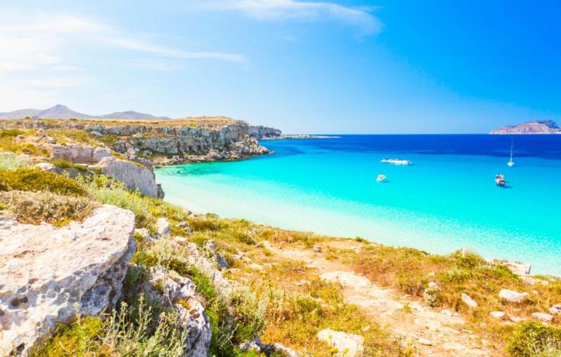 Favignana Sicilia mare spiaggia