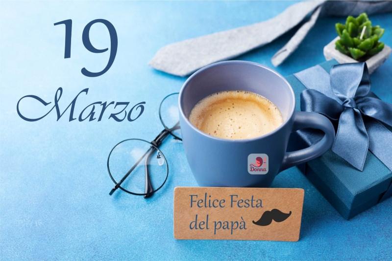 19 marzo festa del papà auguri caffè