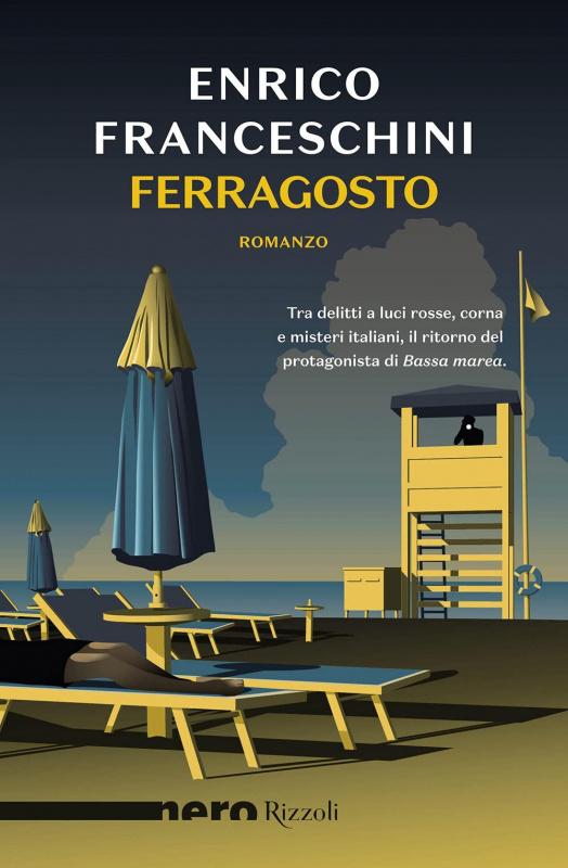 copertina libro Ferragosto di Enrico Franceschini