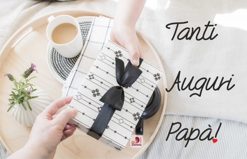 regalo per la Festa del papà auguri tazzina caffè