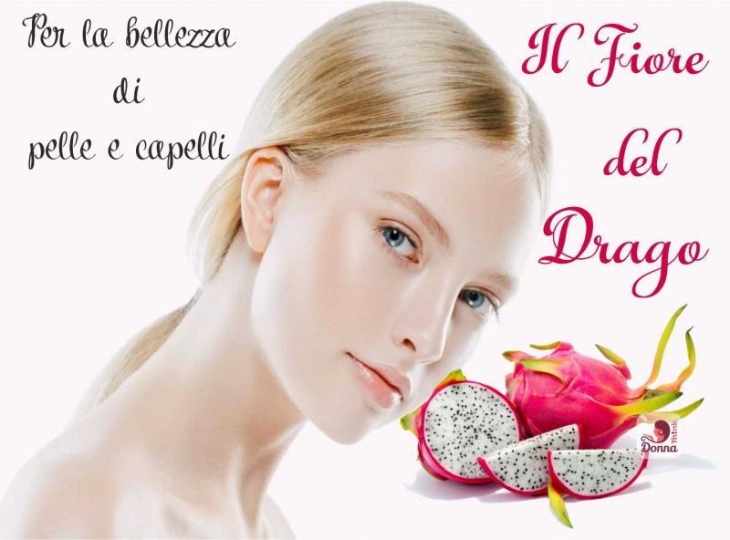 frutto del drago bellezza pelle capelli viso donna bionda occhi azzurri