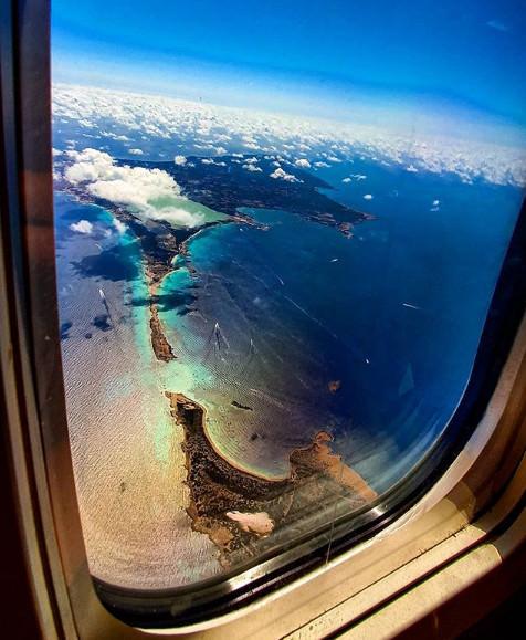Formentera vista aereo