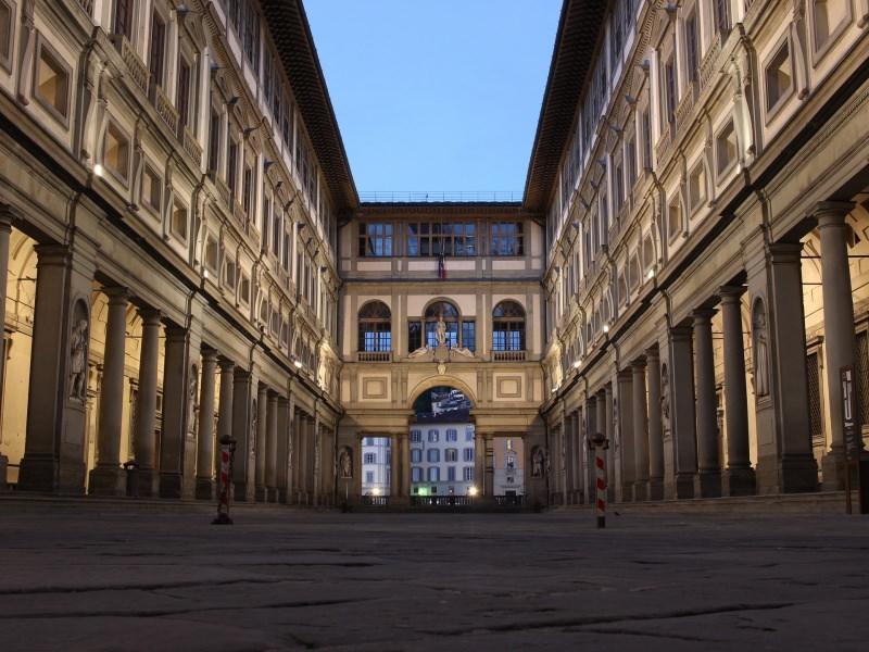 Trip tips   Un weekend d'autunno romantico in Toscana - Parte 2 Firenze Galleria degli Uffizi