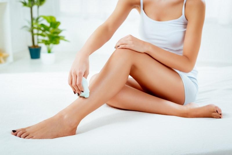 epilazione gambe donna epilatore