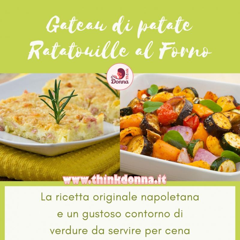 gateau di patate ricetta originale ratatouille contorno di verdure al forno pirofila
