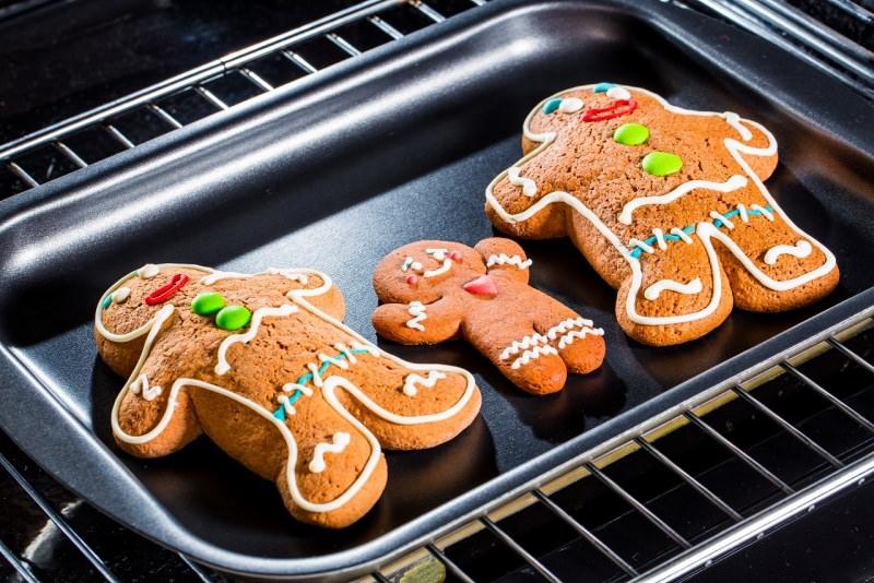 omini pan di zenzero gingerbread forno cottura