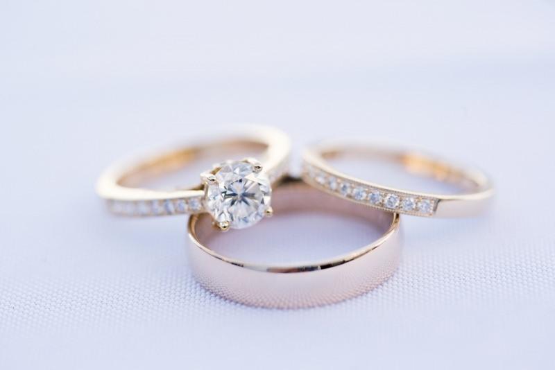 gioielli anello oro brillante diamante fede nuziale