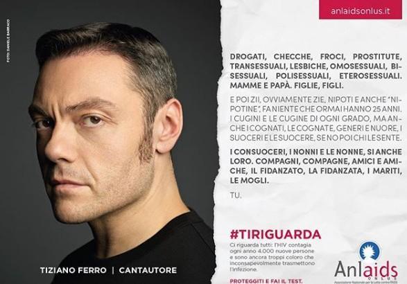 foto di Daniele Barraco #TI RIGUARDA CAMPAGNA ANLAIDS PER IL 1° DICEMBRE 2018 Giornata mondiale contro l'AIDS,
