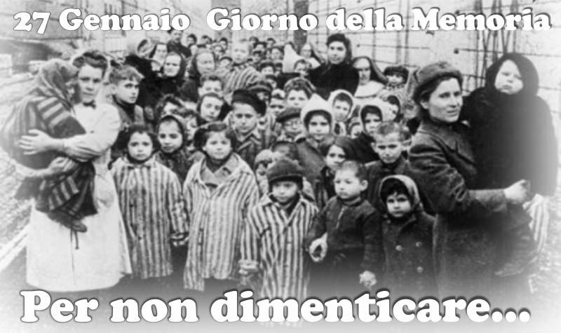Giorno della Memoria 27 gennaio   Olocausto delle Donne di Ravensbrück shoah campo di sterminio concentramento auschwitz popolo ebraico ebrei per non dimenticare