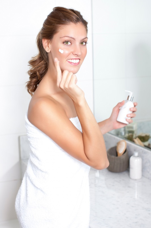 idratare la pelle crema pulizia bagno