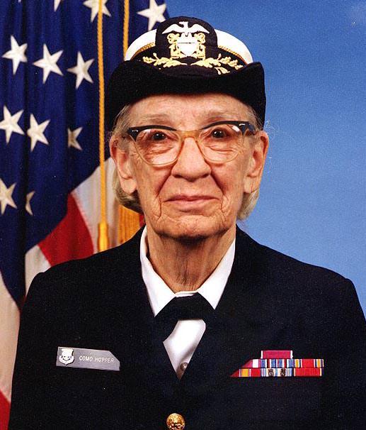 Grace Hopper matematica, informatica e militare statunitense