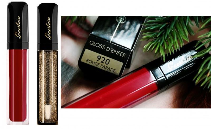 lip gloss guerlain L'Oiseau de Feu rouge parade makeup trucco natale 2014