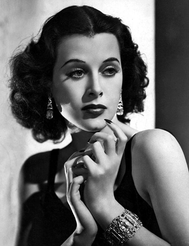 Hedy Lamarr attrice vintage foto gratis Pixabay