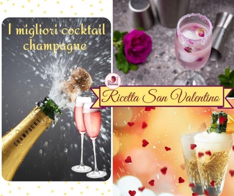 i migliori coccktail champagne san valentino ricetta