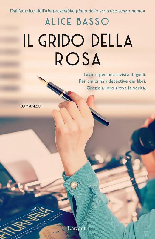 copertina libro il grido della rosa di Alice Basso