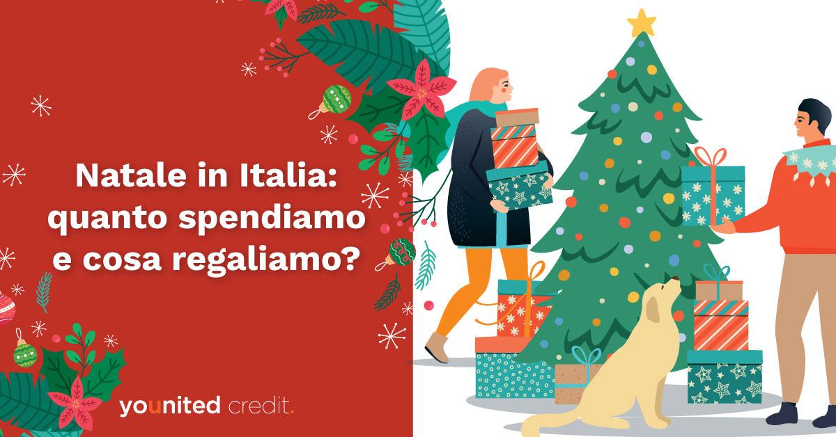 regali natale in Italia