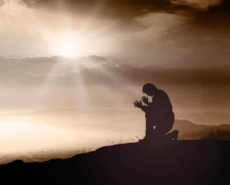 pentimento preghiera luce sole cielo sabato santo