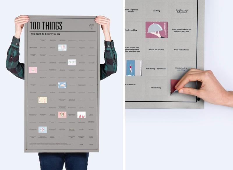 5 idee regalo per lui per i suoi 30 anni poster 100 cose da fare