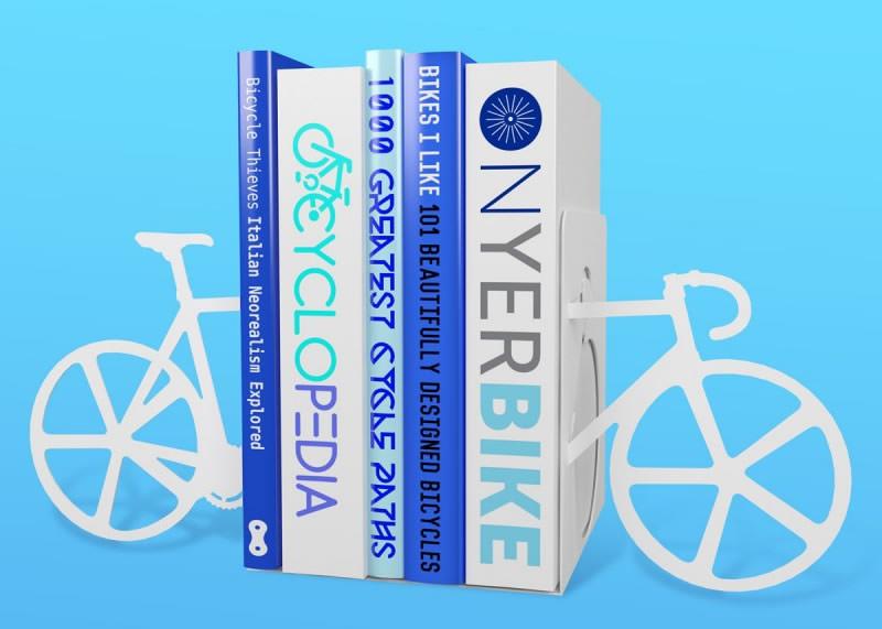 5 idee regalo per lui per i suoi 30 anni fermalibri bicicletta ciclo lettore