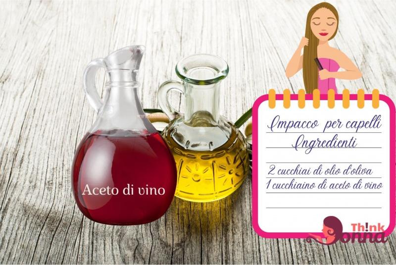 ampolle olio oliva aceto di vino rosso illustrazione cura dei capelli