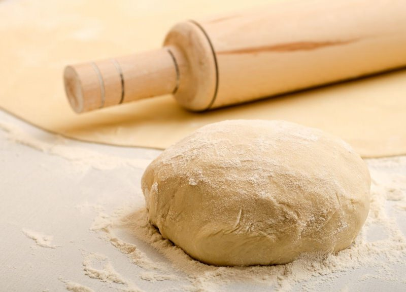 impasto farina pasta fresca mattarello sfoglia