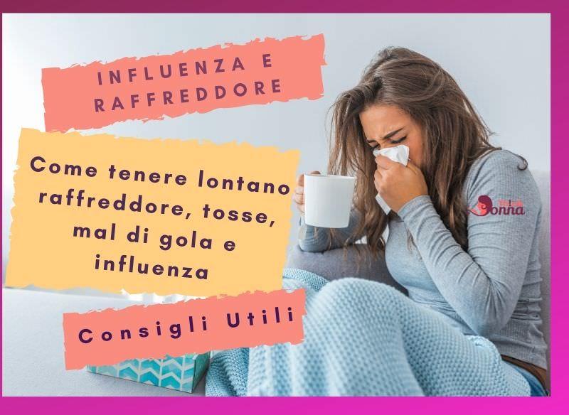 influenza e raffreddore piccoli rimedi naturali consigli