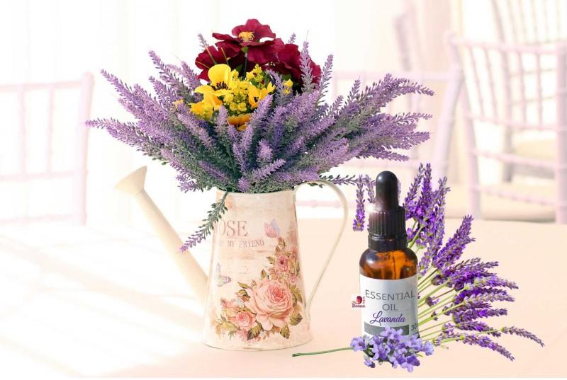 olio essenziale fiori lavanda