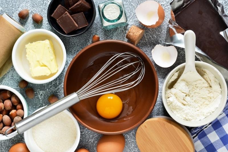 ingredienti per base brownies