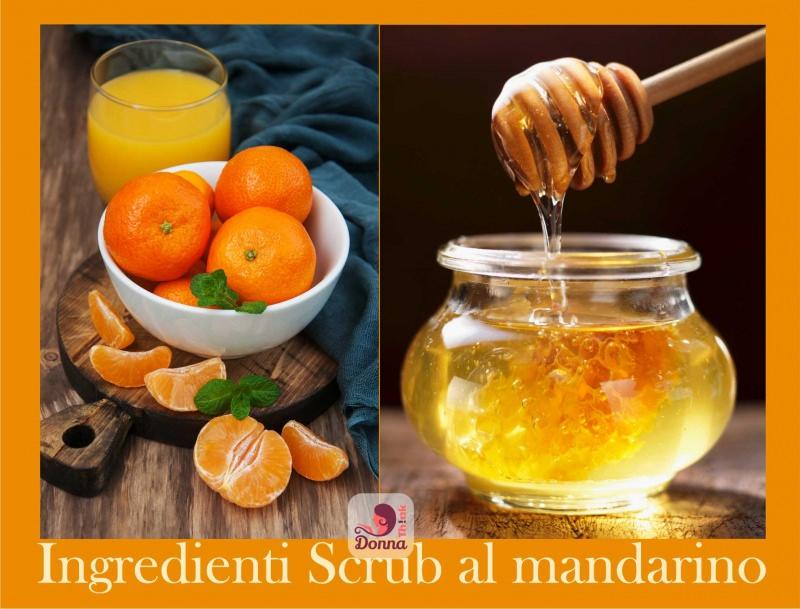 logo ingredienti scrub al mandarino miele