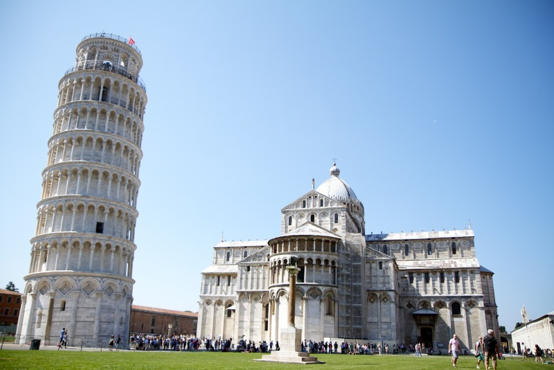 Trip tips | Un weekend d'autunno romantico in Toscana - Parte 2 Pisa Piazza dei Miracoli Duomo Santa Maria Assunta Torre Pendente