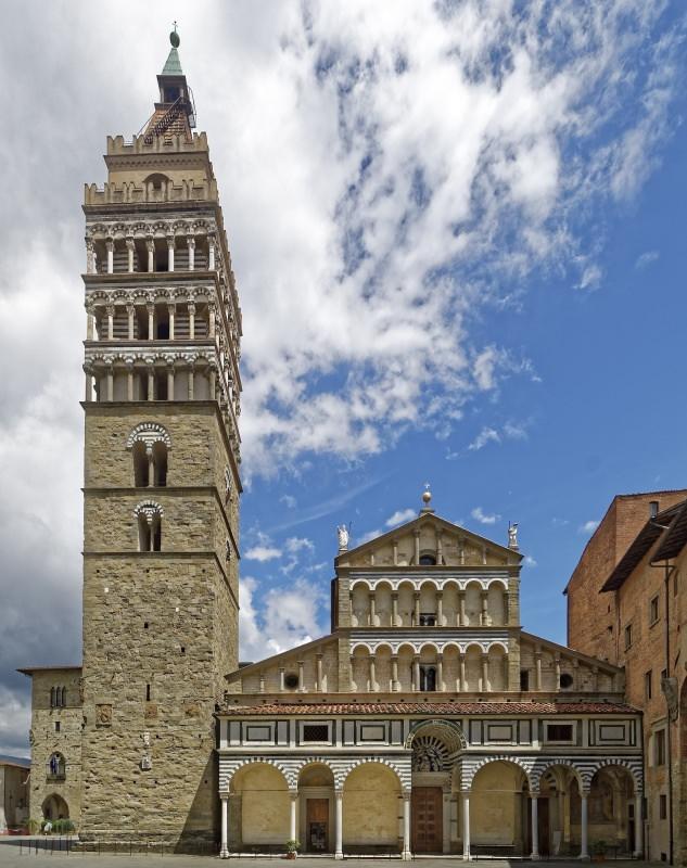 Trip tips   Un weekend d'autunno romantico in Toscana - Parte 2 Pistoia Cattedrale di San Zeno