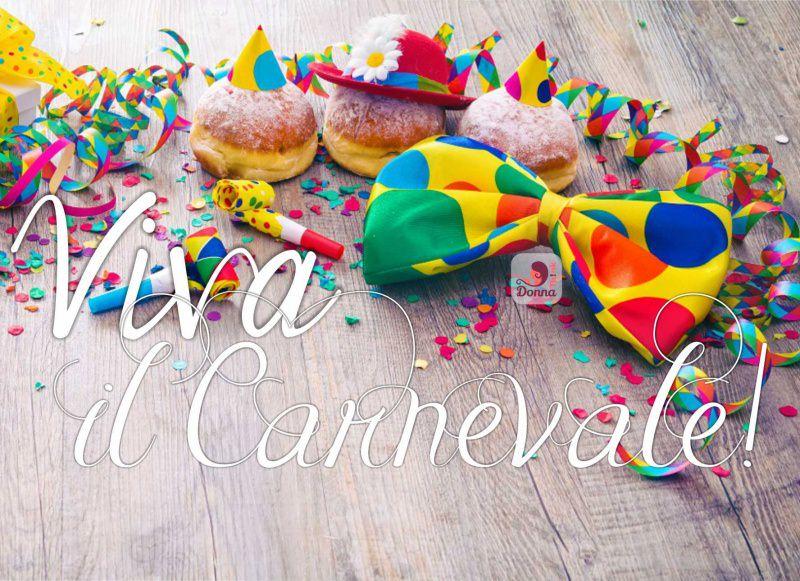 viva il carnevale krapfen bomboloni fritti zucchero a velo stelle filnti fischietti coriandoli papillon cravattino