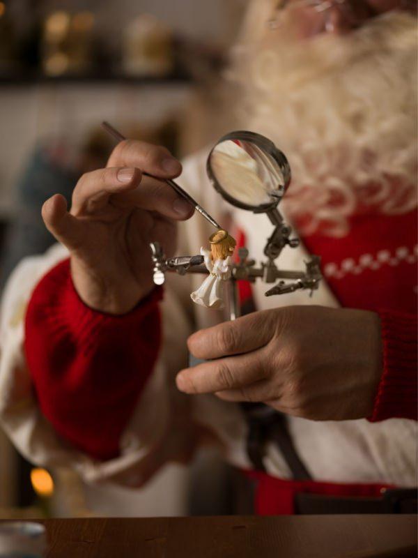 laboratorio casa di Babbo Natale