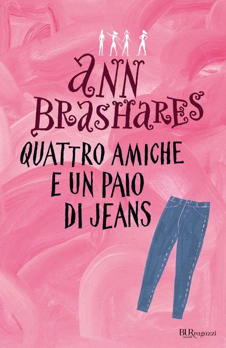 A Natale, regala un libro! copertina libro quattro amiche e un paio di jeans di ann branshares rosa libri ragazze regali