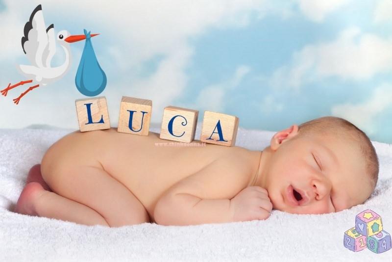 Bebè neonato scelta nome Luca