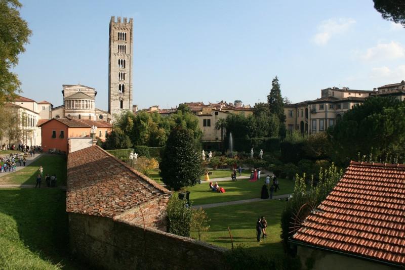 Trip tips | Un weekend d'autunno romantico in Toscana - Parte 2 Lucca giardino panorama